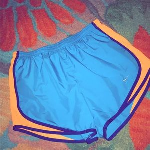 size small nike track shorts